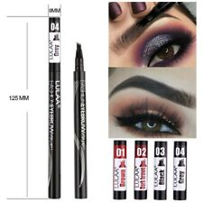 Waterproof Eye Brow Eyeliner Eyebrow Pen Pencil With Brush Cosmetic Makeup Tools