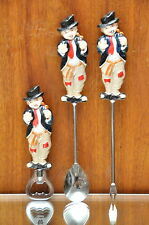 Set of Vintage Bar Tools with Hobo Shields Fifth Ave Bum Hobo Bar cocktail Set