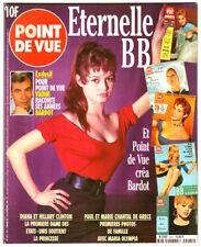 Vintage POINT De VUE MAGAZINE (1996) BRIGITTE BARDOT!!!