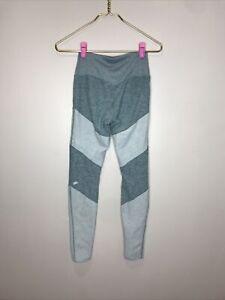 Alo Yoga Soft Sheila High Waist Leggings 7/8 Heathered Seagrass Green Small S