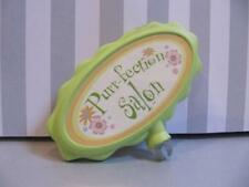 LITTLEST PET SHOP purr-fection salon PLAYSET House Replacement green SIGN~htf