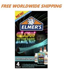 Elmer's Glow In The Dark Slime Kit Assorted Colors For Slime WORLDWIDE SHIP
