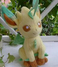 "NEW POKEMON EEVEE SERIES  PLUSH Leafeon 8"" Stuffed Plush doll"