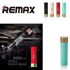 REMAX RPL-18 Power Bank 2500 mAh serie Shell VERDE modello cartuccia di fucile