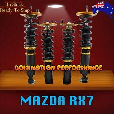MAZDA RX7 FC3S Coilover Kit - SYC Fully Adjustable Front & Rear Suspensions