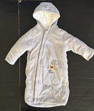 Disney Pooh Winter Outerwear One Piece Outfit Gray Warm Baby 6-9 mo Excellent!