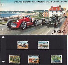 Jersey Bureau de Poste : 60th Anniversaire Motocycle & Léger Voiture Club