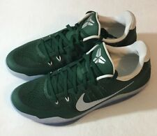 Nike Kobe XI 11 TB Promo Basketball Shoes 856485-331 Mens Size 12 Michigan Green