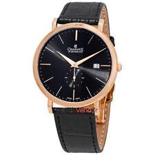 Charmex Ascot Black Dial Black Leather Men's Watch 2926