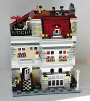 Modular Townhouse Bauanleitung für LEGO (passt zu 10197 10211 10224 10218 10182)