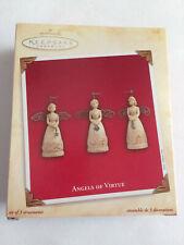 2003 ~ Vintage Collectible Christmas Ornament Hallmark Keepsake Angels Of Virtue