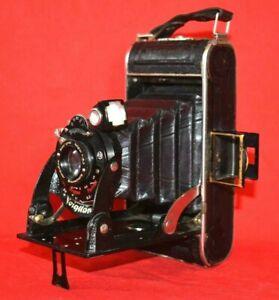 Vintage German Voigtländer Anastigmat Voigtar 1:6.3 RARE Folding Camera Germany