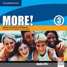 More! Level 3 Class Audio CDs, Lewis-Jones, Peter, Holzmann, Christian, Gerngros