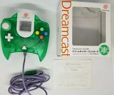SEGA Dreamcast Controller Clear Lime Green Millennium Boxed DC Japan