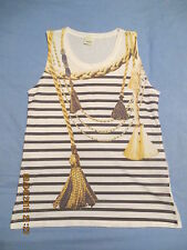 NAUTICAL VEST TOP AGE 13+