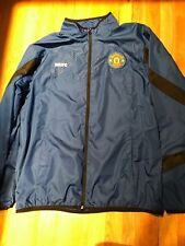 Manchester United Windbreaker Light Jacket Blue Men's L