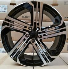 "18"" 8 5x112 GOLF R TWIST STYLE Alloy Wheels VW GOLF/ SKODA/ CADDY/"