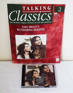 Orbis Talking Classics No.2 (CD's) Wuthering Heights plus Magazine