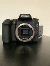 Canon EOS 70D 20.2MP Digital SLR Camera - Black (Body Only) Water Damage