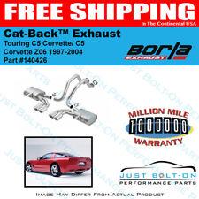 Borla 97-04 Chevrolet Corvette 5.7L C5 Z06 Touring SS Catback Exhaust #140426