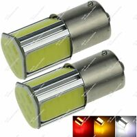 2X 1156 P21W 1141 4 COB LED Turn Signal Light Tail Lamp Reverse Bulb Auto ZD083