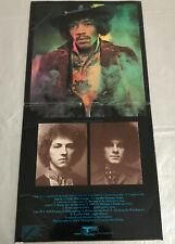 JIMI HENDRIX ELECTRIC LADYLAND 2-LP BLUE TEXT PARTIAL GHOST TRACK UK 1968 EXC