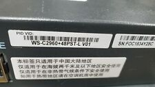 Cisco WS-C2960+48PST-L 2960 PLUS 48 Port POE Switch