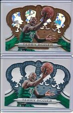 TERRY ROZIER 2018-19 PANINI CROWN ROYALE LOT BRONZE CRYSTAL 99/99 + BASE #179 #