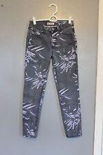 Free People Printed Skinny Ankle Jeans 25