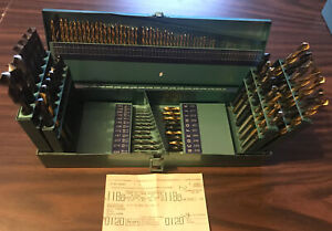 Vintage Sears/Craftsman 115 Pc Drill Set 966853