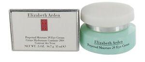 Elizabeth Arden Perpetual Moisture 24 Eye Cream Normal women  0.5 oz(15ml) NIB