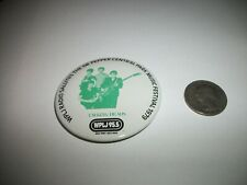 Talking Heads Wplj Central Park Music Festival Rare 1979 Pin