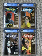 Batman#426-429 Death In The Family CGC 8.5, 7.0, 8.5, 8.0