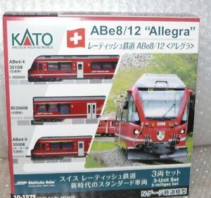 HS KATO 10-1273 (Noch 707435) Triebzug ABe8/12 ALLEGRA der RhB  Sp N