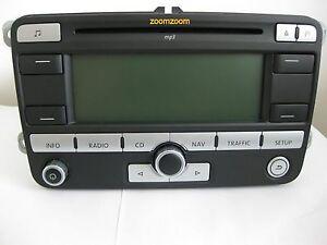 VW RNS 300 Radio mp3 Navigation System Navigation system 1k0 035 191 HX Passat