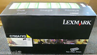 Genuine Yellow Lexmark C792A1YG Toner Cartridge (C792, X792) - NEW SEALED