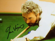 JOHN VIRGO - TOP ENGLISH SNOOKER PLAYER - SUPERB SIGNED COLOUR PHOTO