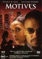 MOTIVES - Vivica A. Fox, Shemar Moore (DVD, 2004) # 1697