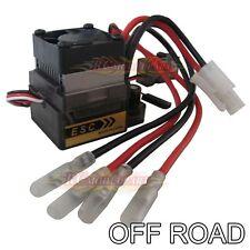 High-V 320A ESC Brush Speed Controller for 1/8 1/10 RC 4WD HSP HPI Car Truck