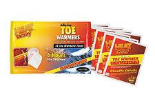 Heat Factory Adhesive Toe Warmer Big Pack- 8 Pair  Heated Foot warmer