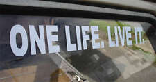LARGE ONE LIFE. LIVE IT. Sticker for LandRover Disco Discovery Suzuki Defender