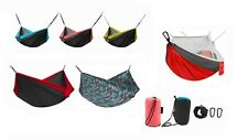 Avalanche Portable Hammock - 1 Person, 2 Person, or with Mosquito Netting