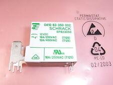 0410 63 050 002 Relay Relais Coil Voltage 12V 250V 16A 125° Schrack