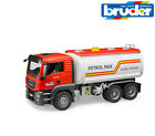 Bruder Toys 03775 MAN TGS Fuel Tanker Truck Lorry with Working Pump (Water) 1:16