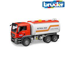 Bruder Jouets 03775 Homme Tgs Camion-Citerne de Carburant Camion avec Fonctionne