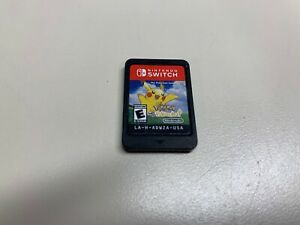 Pokemon: Let's Go Pikachu (Nintendo Switch) (Game Only) *FULLY FUNCTIONAL*