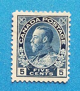 Canada stamp Scott #111 MH good original gum. Good colors, perfs. Nice stamp.