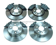ROVER MG ZTT ZT-T 135 160 180 FRONT AND REAR BRAKE DISCS & PADS SET NEW
