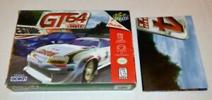 BOX/POSTER ONLY GT 64 CHAMPIONSHIP EDITION NINTENDO 64 ORIGINAL N64