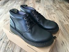 NEW Dr Martens GIGGS 16758001 Leather Boot Black Men's US 12